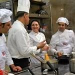 Avviamento professionale per cuoco, 2014 - UNiversità della Cucina Mediterranea. Chef Cataldo Mascolo e sous chef Silvia Cella