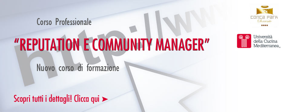 Corso Reputation Community Manager